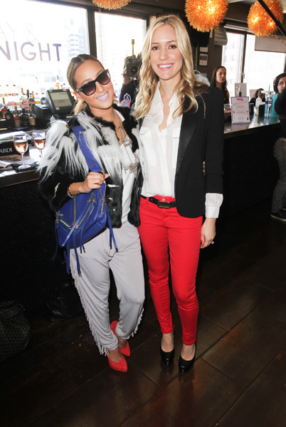 Adrienne Bailon and Kristen Cavallari