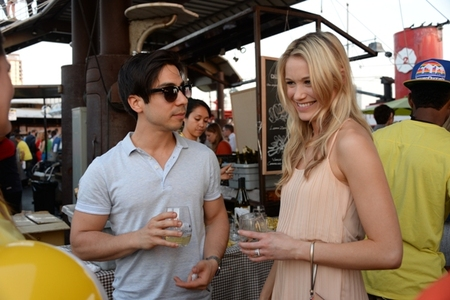 Ben Jorgensen and Katrina Bowden