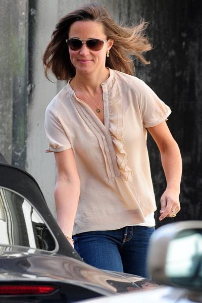 celebs wearing blouses