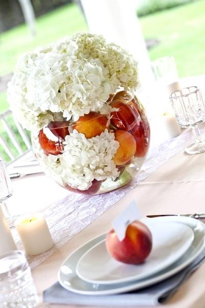 Peaches and petals