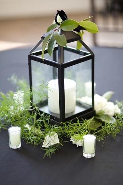 Lanterns and greens
