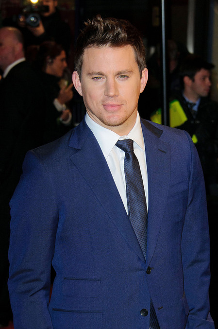 Channing Tatum at The Eagle Premiere
