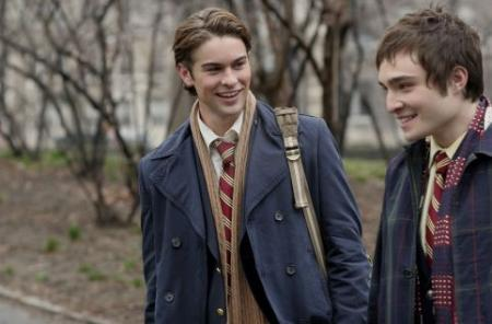 Chase Crawford and Ed Westwick attend private school in Gossip Girls
