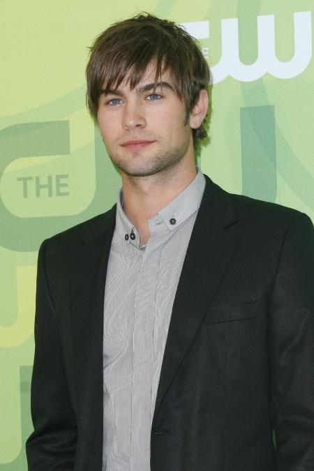 Chase Crawford at a CW event