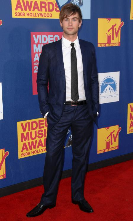 Chase Crawford at the MTV awards
