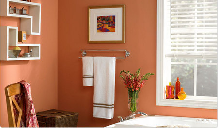A Cheerful Wake-up Call - Bathroom