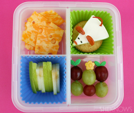 Cheese Please bento box lunch