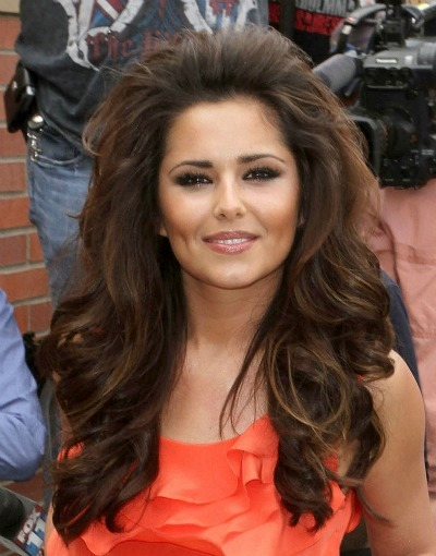 Cheryl Cole   Curly hairstyles