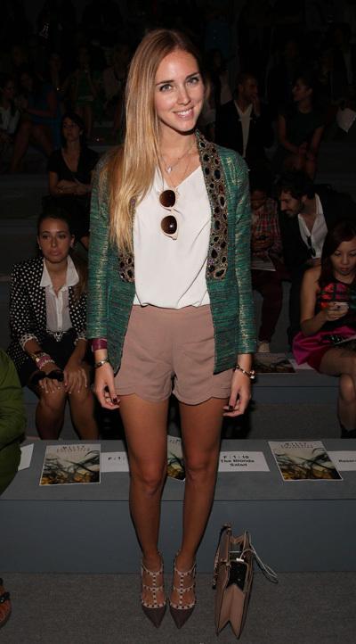 Style blogger Chiara Ferragni