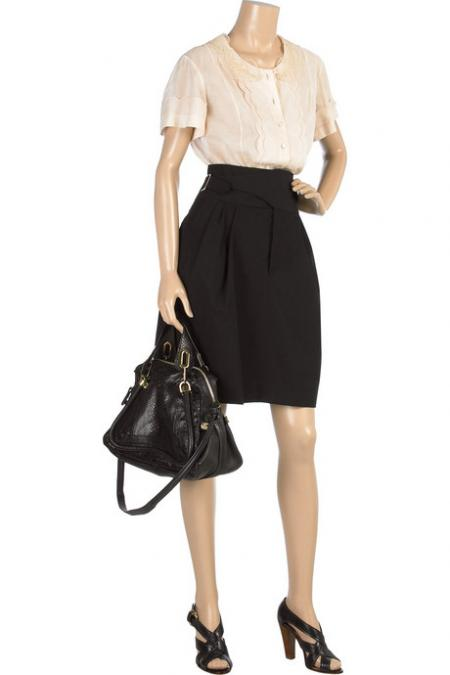 Chloe High Waisted Skirt
