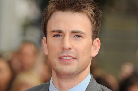 Chris Evans looking completely handsome