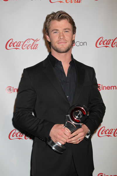 Chris Hemsworth at the CinemaCon Awards