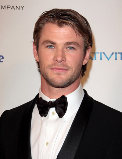 Chris Hemsworth Golden Globe After Party
