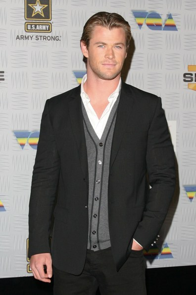 Chris Hemsworth Spike TV's Video Game Awards