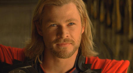 Chris as Thor