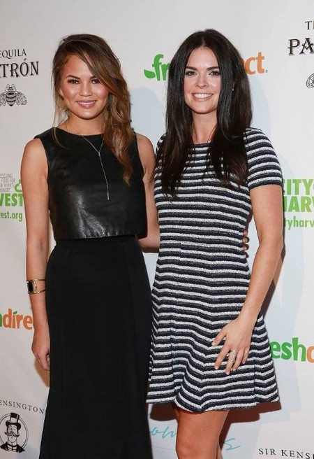 Chrissy Teigen & Katie Lee