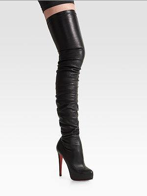 Christian Louboutin over-the-knee boots