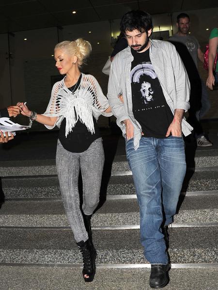 Christina Aguilera & Jordan Bratman (2010)