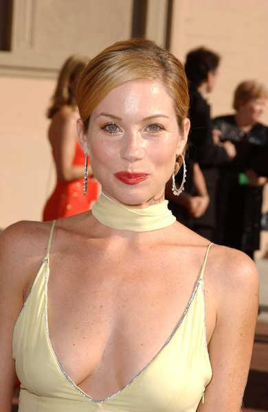 Christina Applegate Sleek and Elegant Bun