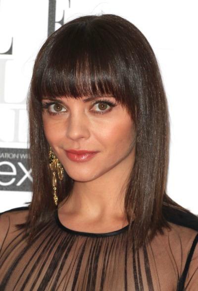 coil hairstyles : Christina Ricci