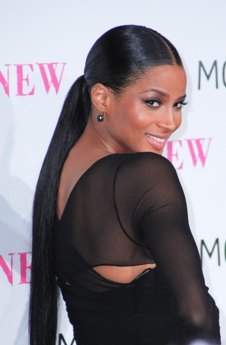 Ciara's Sleek Hairstyle