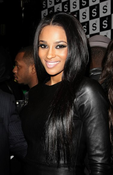 Ciara's sexy, long hairstyle