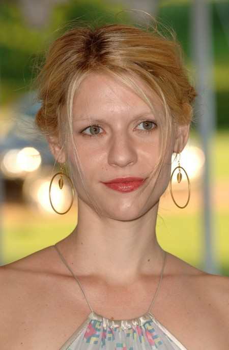 Claire Danes' Pulled Back Hairstyle