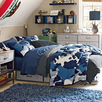 Classic Camo   Boysu0027 Bedroom Ideas