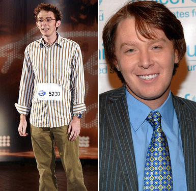 Clay Aiken Then and Now