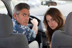 """George Clooney and Shailene Woodley in """"The Descendants"""""""
