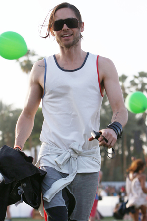 Jared Leto at Coachella 2013