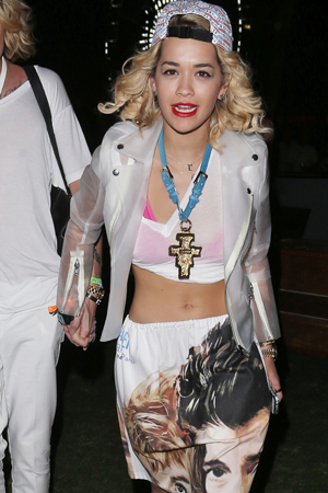 Rita Ora at Coachella 2013