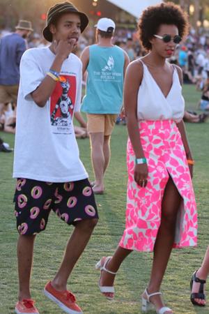 Solange Knowles at Coachella 2013