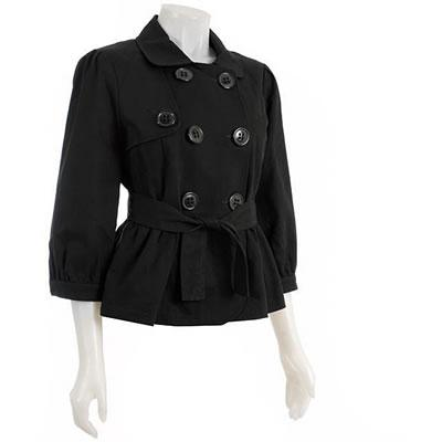 Colebrook Women's Cropped Belted Jacket
