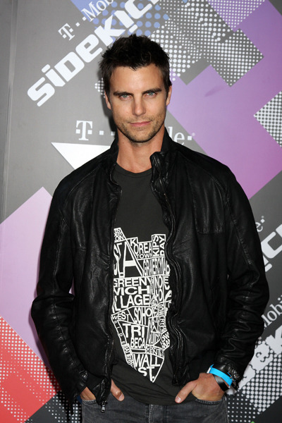 Colin Egglesfield T-Mobile Launch Party of Sidekick 4G