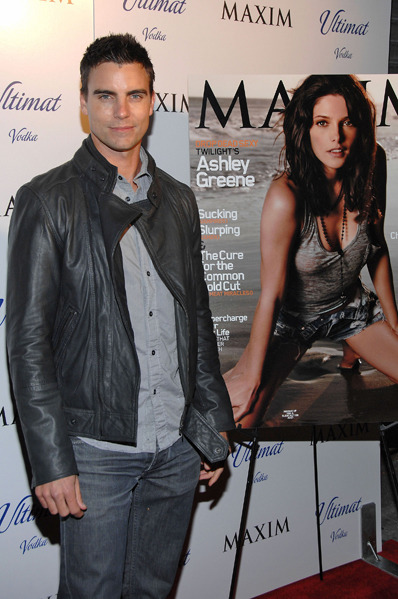 Colin Egglesfield at Maxim December issue event