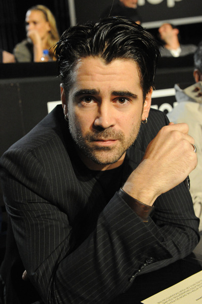 Colin Farrell at the Hope for Haiti event