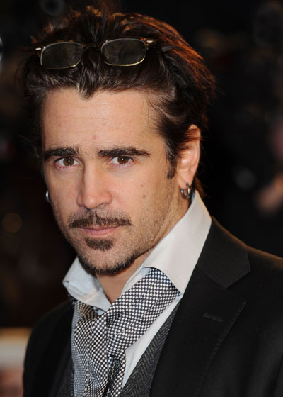 Colin Farrell at The Way Back premiere