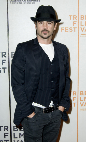 Colin Farrell at the Tribeca Film Festival