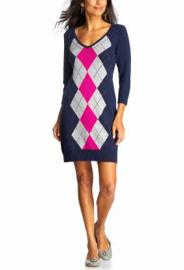 Argyle Sweater Dresses