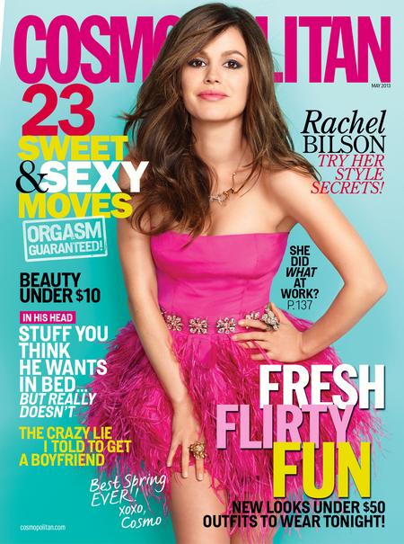 Rachel Bilson, Cosmopolitan May 2013