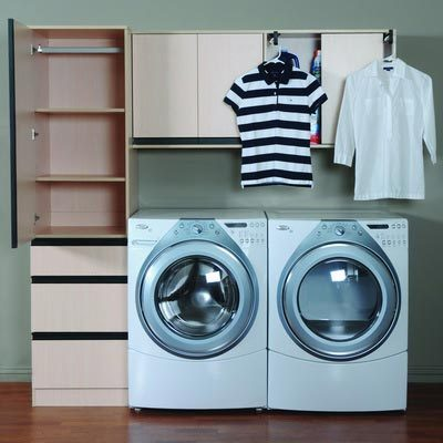 Laundry Room Cabinet System - Laundry Room Ideas