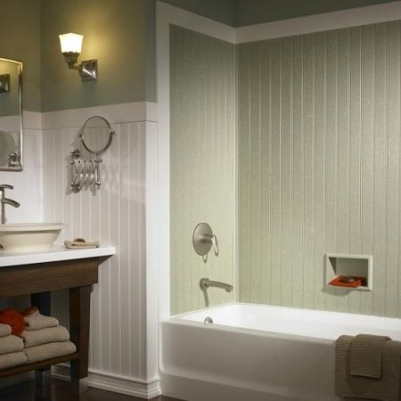Beadboard bathroom - Country cool décor
