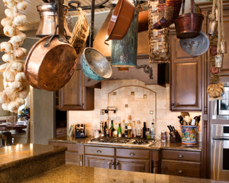 Country Cool Dcor Italian Rustic Kitchen