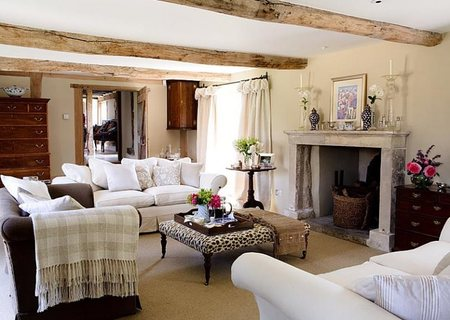Living Room on Eclectic Country Style   Country Cool D  Cor
