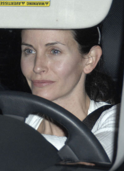 Courteney Cox-Arquette without makeup