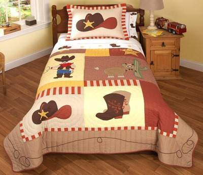 Cowboy Bedding Set