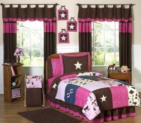 Cowgirl Bedding Set