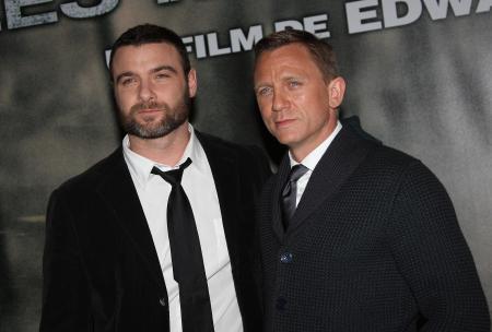 Daniel Craig and Liev Schriber