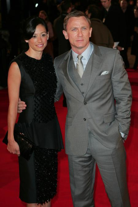 Daniel Craig with his wife Satsuki Mitchell